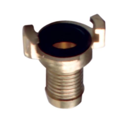 Bajonettkupplung aus Messing Schlauchtülle 19 mm