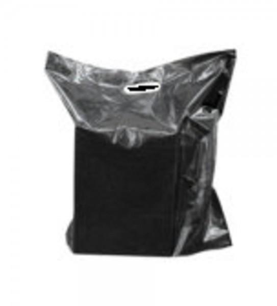 Schwarze Tragetasche 50 x 45 cm, 500 Stück im Karton - Verkauf nur pro Karton