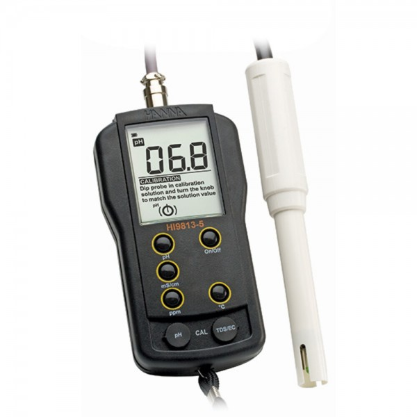 Hanna Hi 9813-5 EC pH Meter