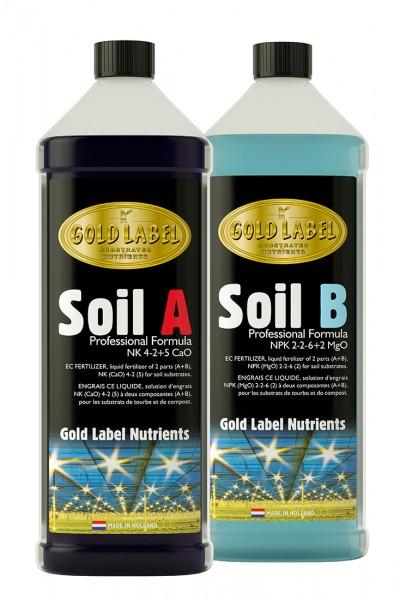 Gold Label Soil A & B Set 10 Liter