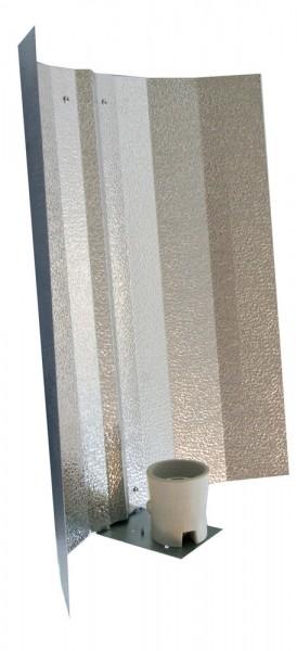 Eco-Lux Hammerschlag Reflektor (mit E 40 Fassung,