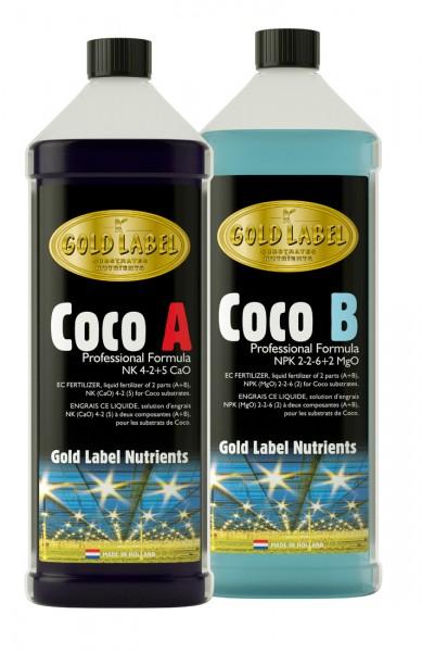 Gold Label Coco A & B Set 10 Liter